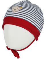 Steiff hat BEAR BLUES stripes tango red 2012221-4008