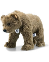 Steiff Shaggy bear replica 1914 22 cm mohair  dark brown 403330