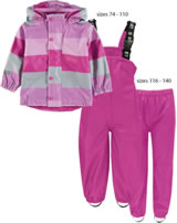 Ticket to heaven PU Rain suit Set of 2 8.000mm pastel lavender 6936665-770