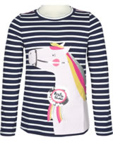 Tom Joule Shirt Langarm AVA navy stripe horse 207848-NVYST