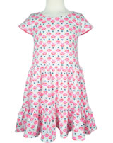 Tom Joule Jersey sundress short sleeves COCO HEARTS cream hearts geo 203087