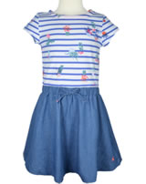 Tom Joule Sommer Kleid Kurzarm KAROLINA cream blue stripe 200845