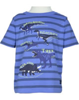 Tom Joule T-Shirt Kurzarm BEN DINOS blue stripes dinos facts 203193