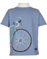Tom Joule T-Shirt Kurzarm BEN FAHRRAD blue marl bike  203193