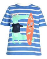 Tom Joule T-Shirt Kurzarm BEN KROKODIL blue stripe 201333