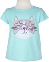 Tom Joule T-Shirt Kurzarm MAGGIE CAT aqua glitter cat 201426