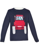 Tom Joule Applique T-Shirt long sleeve CHOMP navy Tractor 207795