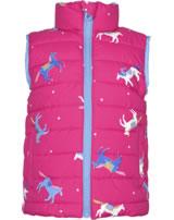 Tom Joule Wende-Weste m. Stehkragen FLIP IT pink horse 206820-PNKHO