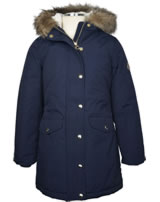 Tom Joule weatherproof jacket with a hoodie french navy Z_ODRWILLOW-FRNAVY
