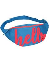 TOPModel belt pouch HELLO azur blue
