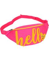 TOPModel belt pouch HELLO pink