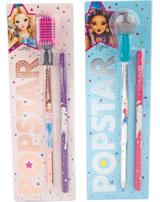 TOPModel Bleistift-Set mit Mikrofon-Radierer