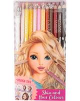 TOPModel Buntstift-Set Haut- und Haartöne Candy