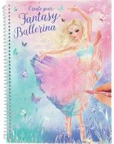 TOPModel Create your FANTASY BALLERINA painting book