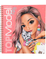 TOPModel coloring book Create your TOPModel Kitty