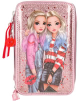 TOPModel pencil case with three parts and filling Friends June & Jill