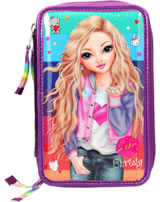 TOPModel pencil case with three parts and filling Friends Rainbow Christy