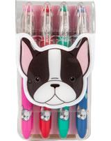Topmodel gel pen set DOG