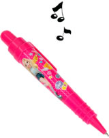 TOPModel Kugelschreiber mit Sound- und Lichteffekten pink