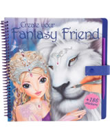TOPModel livre à colorier Create your Fantasy Friend
