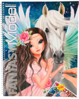 TOPModel livre à colorier Create your Fantasy Model Cheval