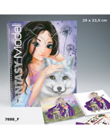 TOPModel Malbuch Create your Fantasy Model Polarfuchs