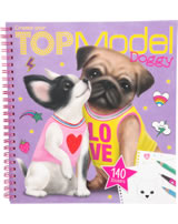TOPModel painting book TOPModel Doggy
