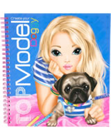 TOPModel Malbuch Create your TOPModel Doggy - Candy und Prince