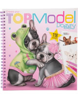 TOPModel painting book TOPModel Doggy Dogs forever