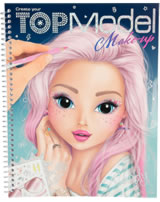 TOPModel Malbuch Create your TOPModel Make Up Candy