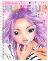 TOPModel Malbuch Create your TOPModel Make Up Lexy