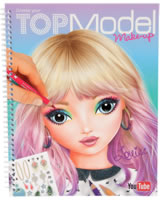 TOPModel Malbuch Create your TOPModel Make Up Louise
