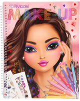 TOPModel Malbuch Create your TOPModel Make Up Nyela