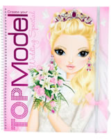 TOPModel Malbuch Create your TOPModel Wedding Special Nadja