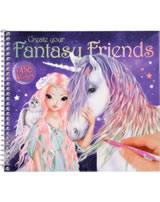 TOPModel livre à colorier FANTASY MODEL Create your Fantasy Friend