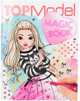 Topmodel livre à colorier Magic Book Candy
