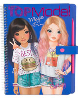 TOPModel Malbuch Magic Fun Nyela und Christy