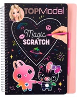 TOPModel livre à colorier Magic Scratch Candy