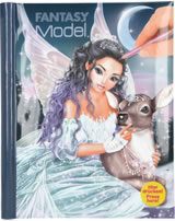 TOPModel livre à colorier avec LED Fantasy Model ICEPRINCESS