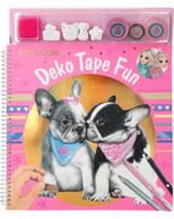 TOPModel Malbuch mit Masking Tapes / Deko Tape Fun DOG