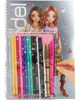 TOPModel Malbuch mit Stifte-Set Lexy und Fergie