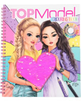 TOPModel Malbuch mit Streichpailetten Candy & Miju