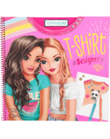 TOPModel colouring book T-Shirt Designer Talita and Christy