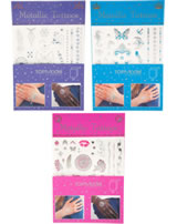 TOPModel Metallic Tattoos