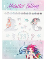 TOPModel Metallic Tattoos FANTASY MODEL Mermaid