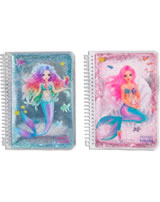 TOPModel Notizbuch mit Glitzer FANTASY MODEL Mermaid