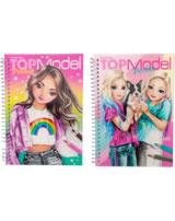 TOPModel Pocket Colouring Book With 3D Cover Talita / Jill + June