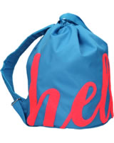 TOPModel backpack HELLO azur blue