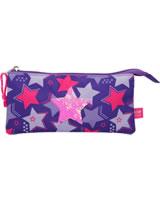 TOPModel pencil case diversified sequins Star pink