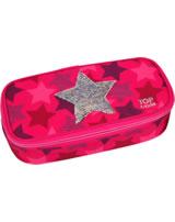 TOPModel Schlampertasche Pailletten Star pink